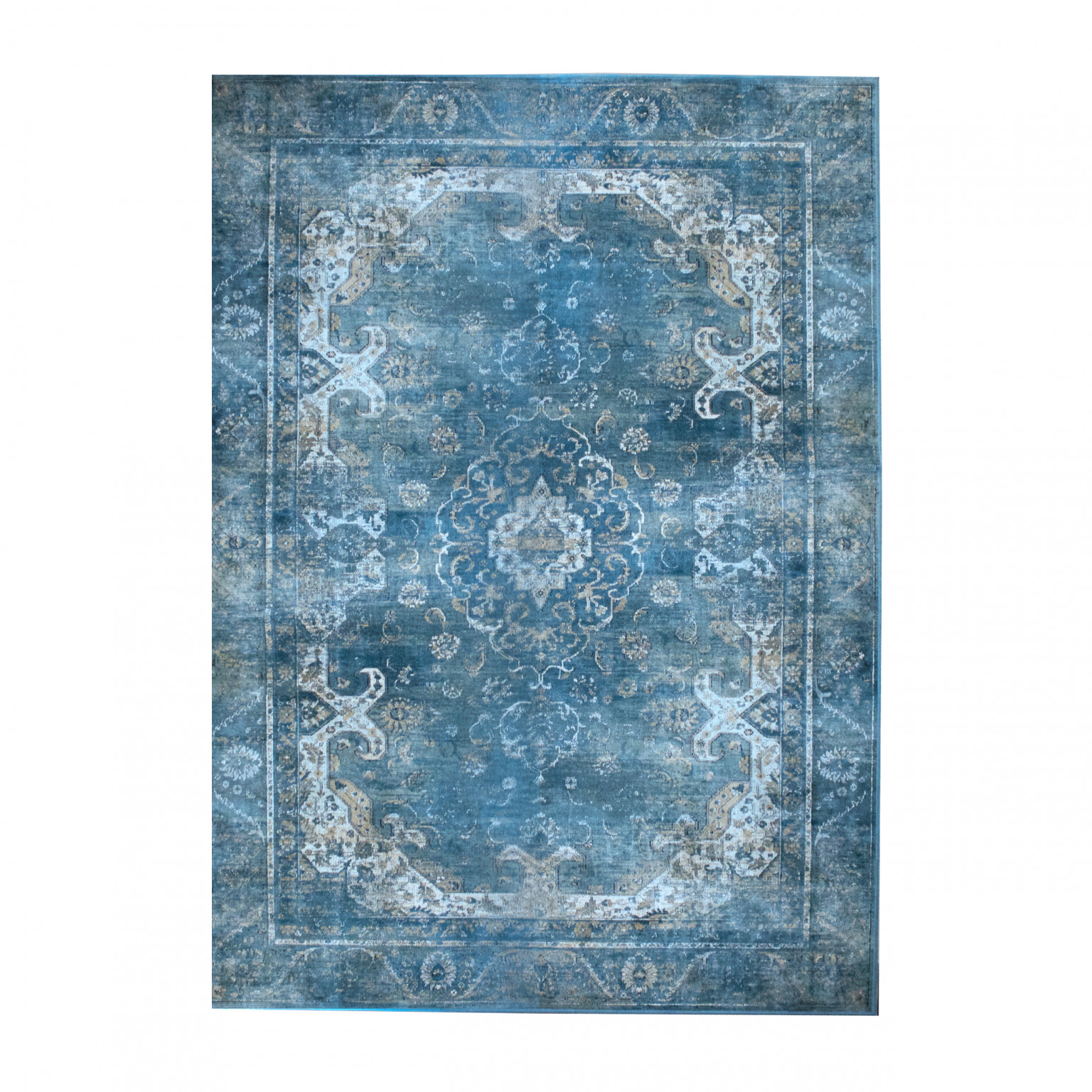 By-Boo 6171 Carpet Liv Turquoise 160x230cm