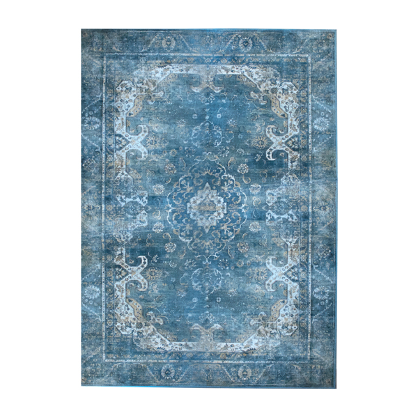 By-Boo 6174 Carpet Liv Turquoise 200x290cm