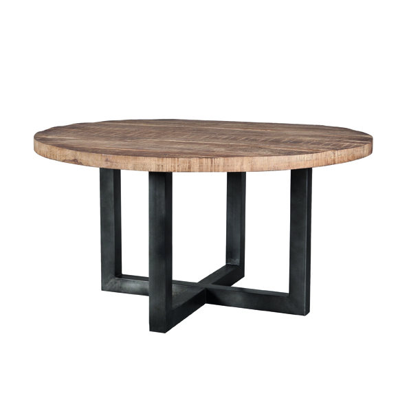 Mango Eettafel rond 150x150cm - zwart