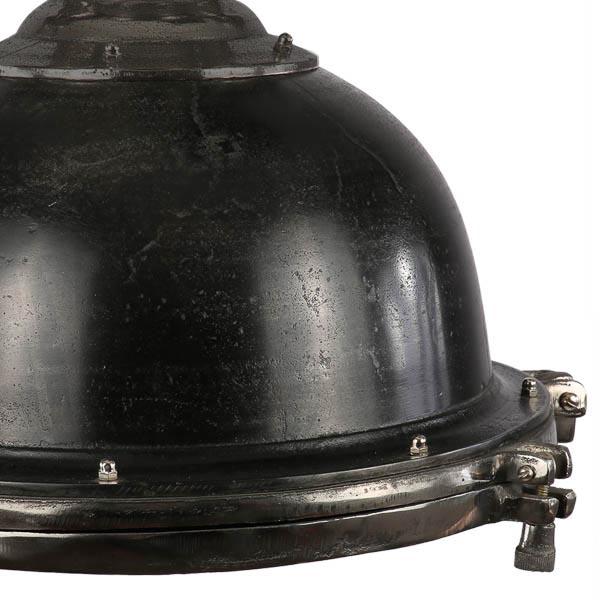 Hanglamp Toscane 40 cm, zwart ruw nickel
