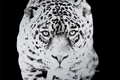 MondiArt Alu  Jaquar zwart/wit 1062181