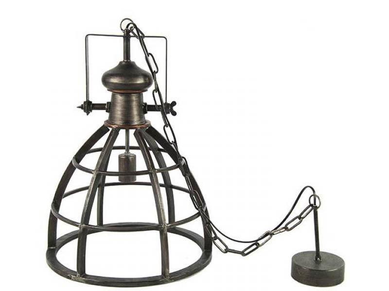 Hanglamp Barbera donker grijs M