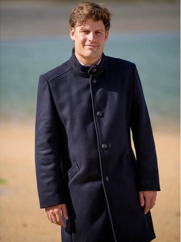 Herenjas Milan cashmere navy