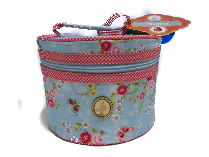 Beautycase M Chinese Rose Round Blue