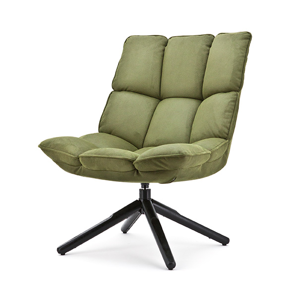 Fauteuil Daan - groen touareg
