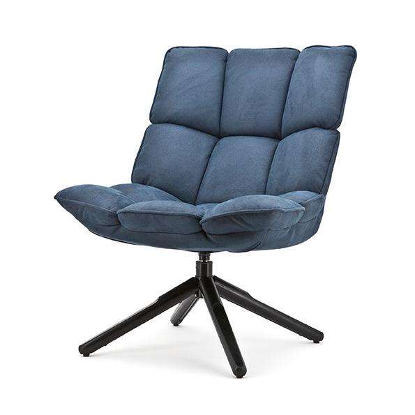Fauteuil Daan - blauw touareg