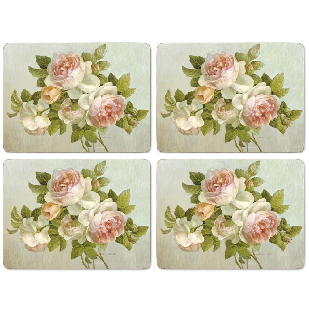 Placemat Antique Roses, set van 4