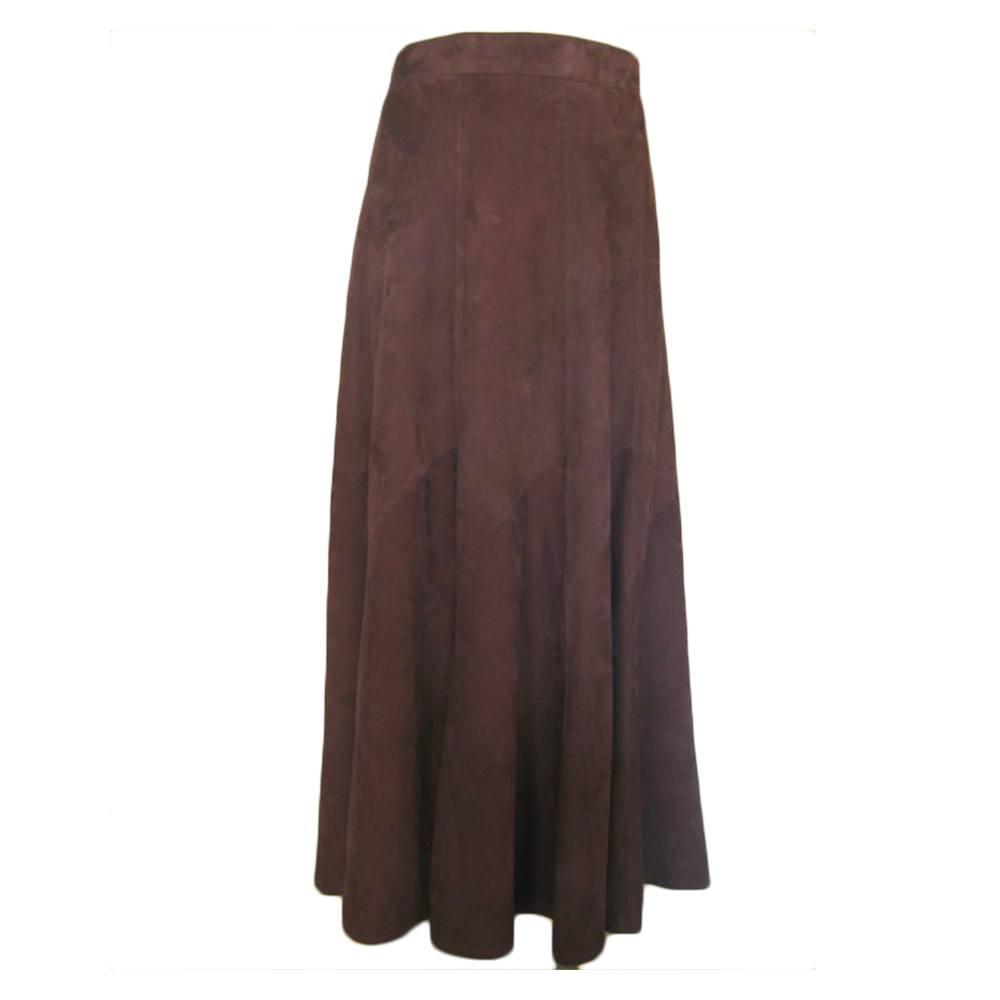 Rok Panel Skirt Bruin