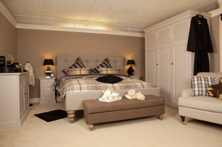 Slaapkamers romantische landelijke slaapkam