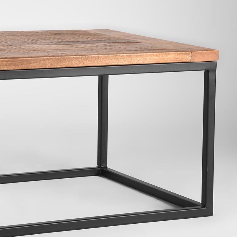 Salontafel Box - Rough - Mangohout - 100x65 cm