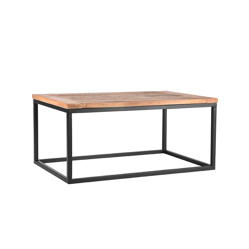 Salontafel Box - Rough - Mangohout - 100x65 cm
