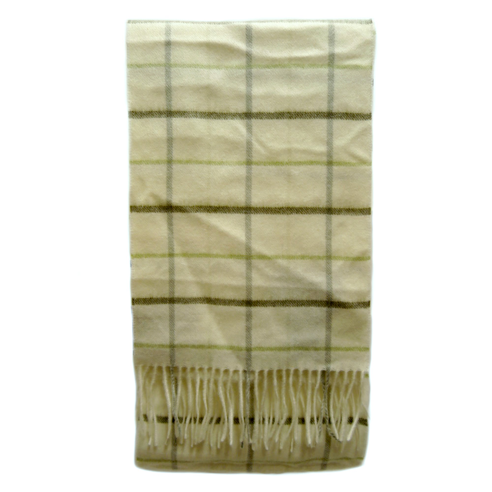 Scarf Country Tattersall Olive