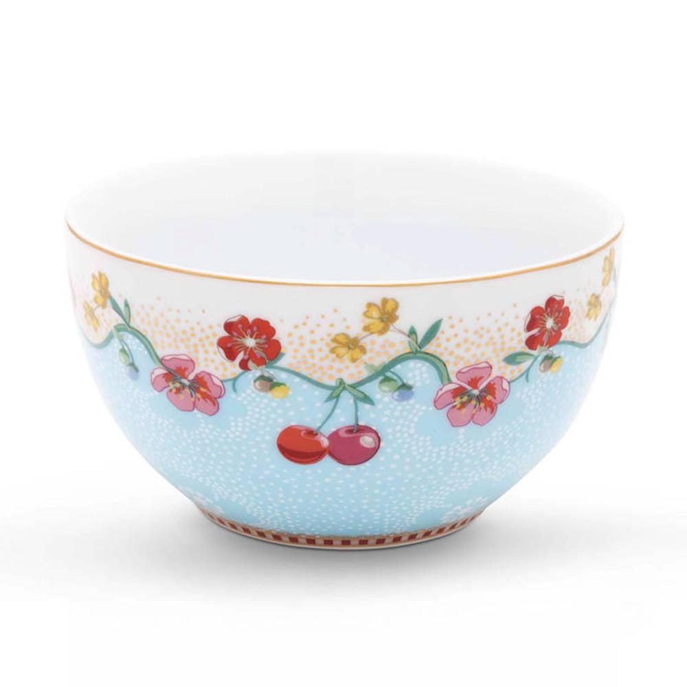 Schaal Cherry blue 12 cm