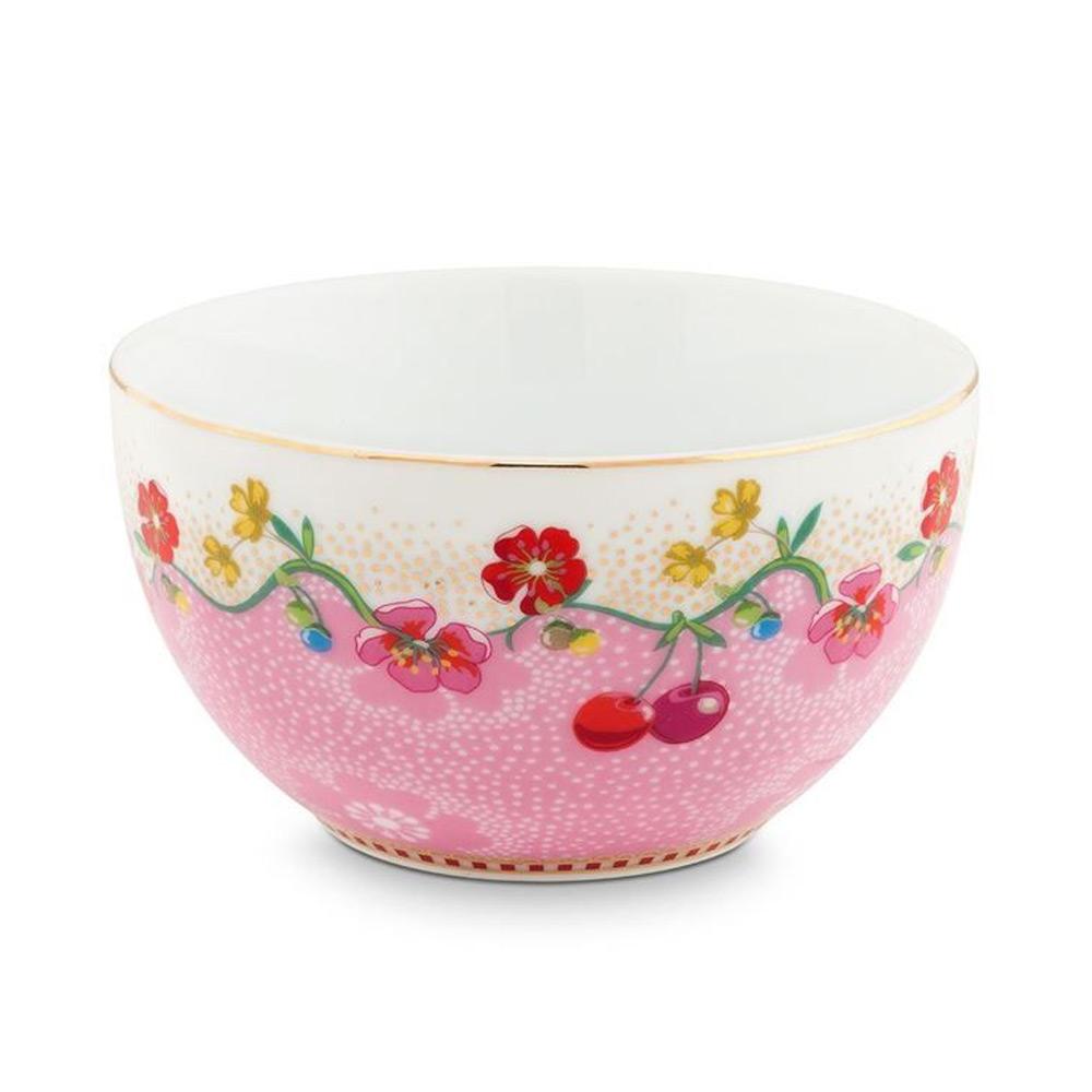 Schaal Cherry pink 12 cm