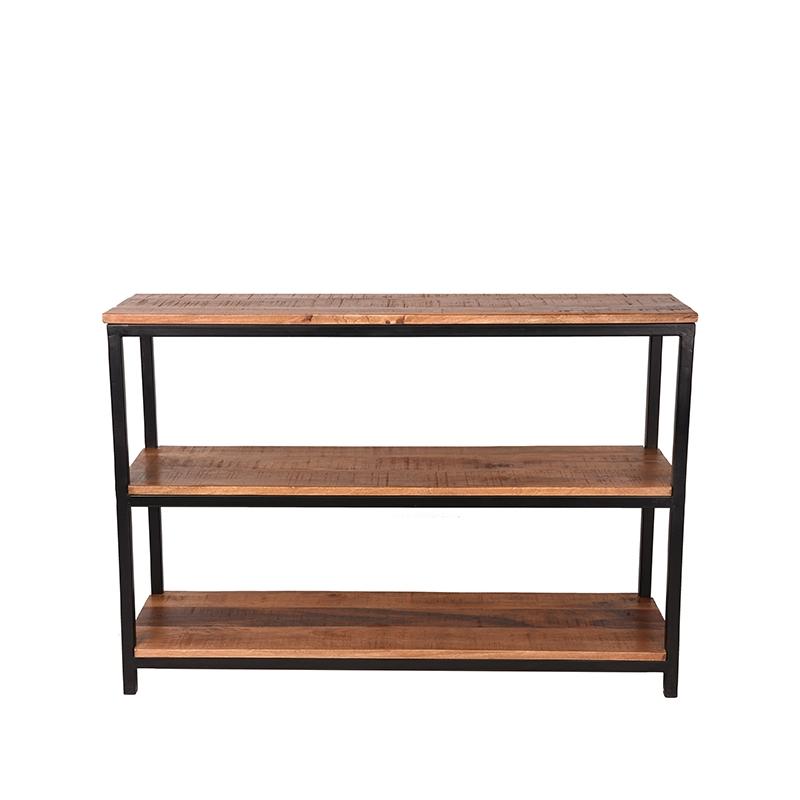Sidetable Vintage - Rough - Mangohout - 110x35 cm