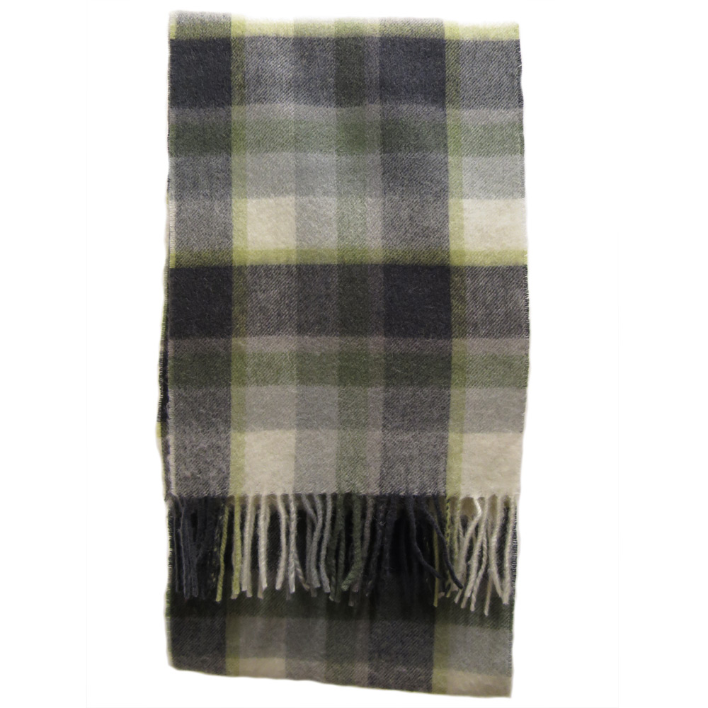 Sjaal Country Plaid Olive