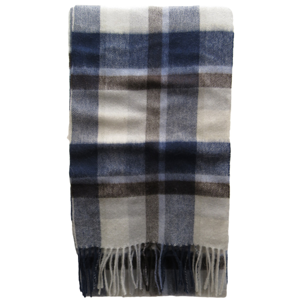 Sjaal Country Plaid navy