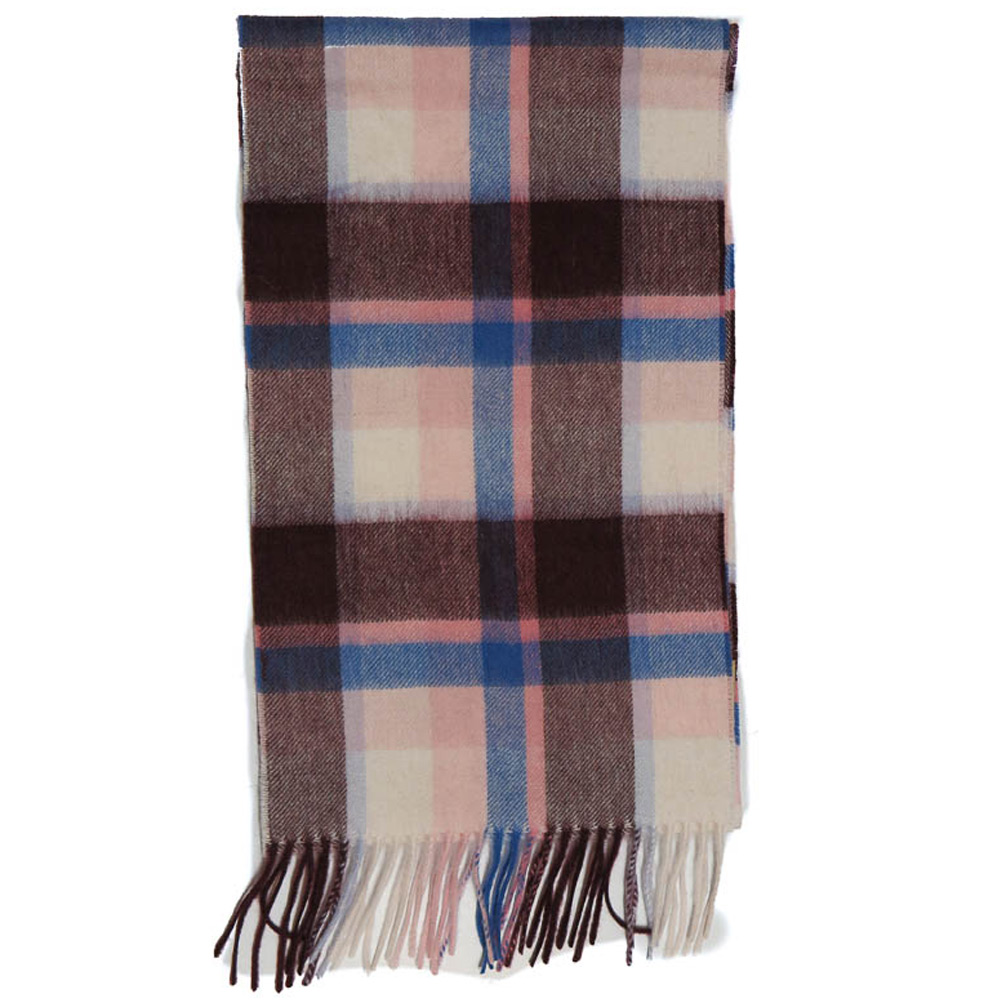 Sjaal Country Plaid pink