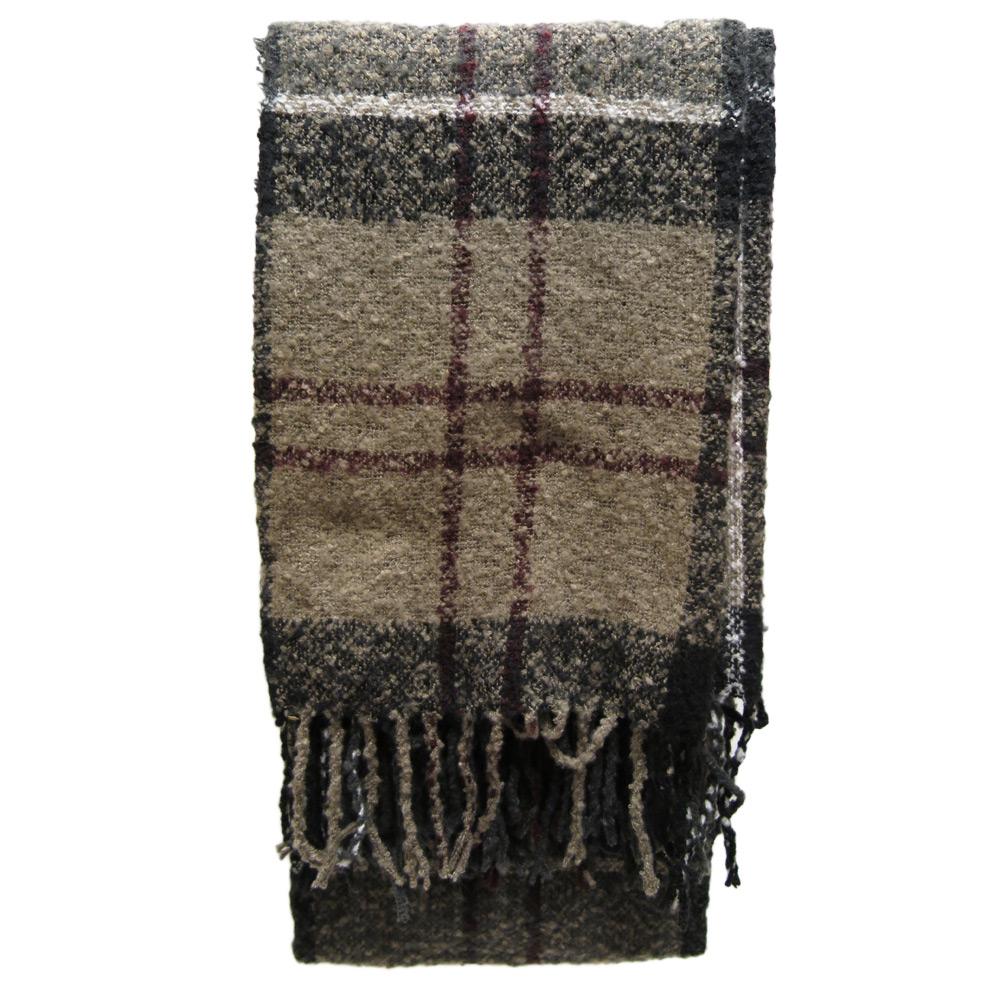 Sjaal Tartan Boucle winter dress