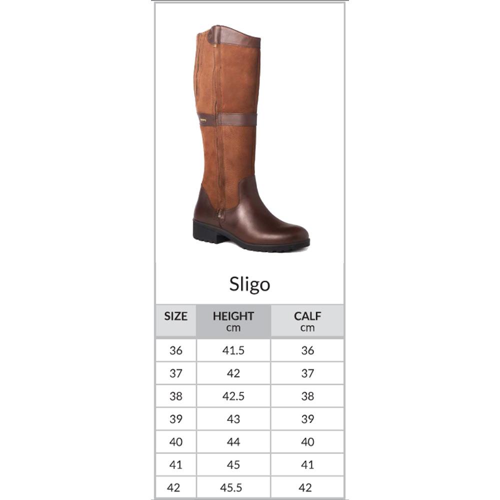 Sligo dameslaars Black/Brown