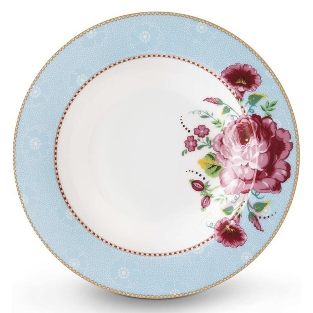 Soepbord Rose Blue 21,5 cm