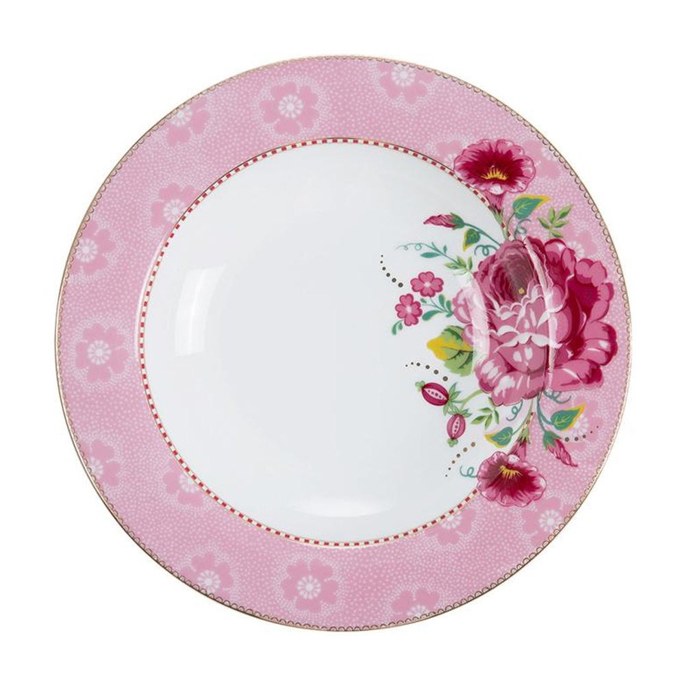 Soepbord Rose roze 21,5 cm