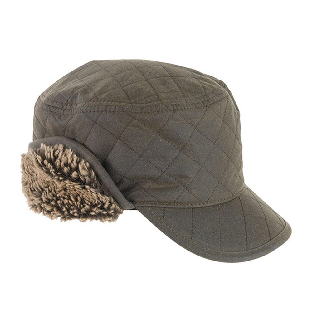 stanhope hunting cap olive