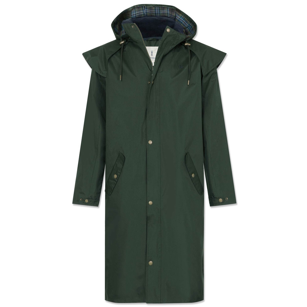 Stockman coat Duffle-groen