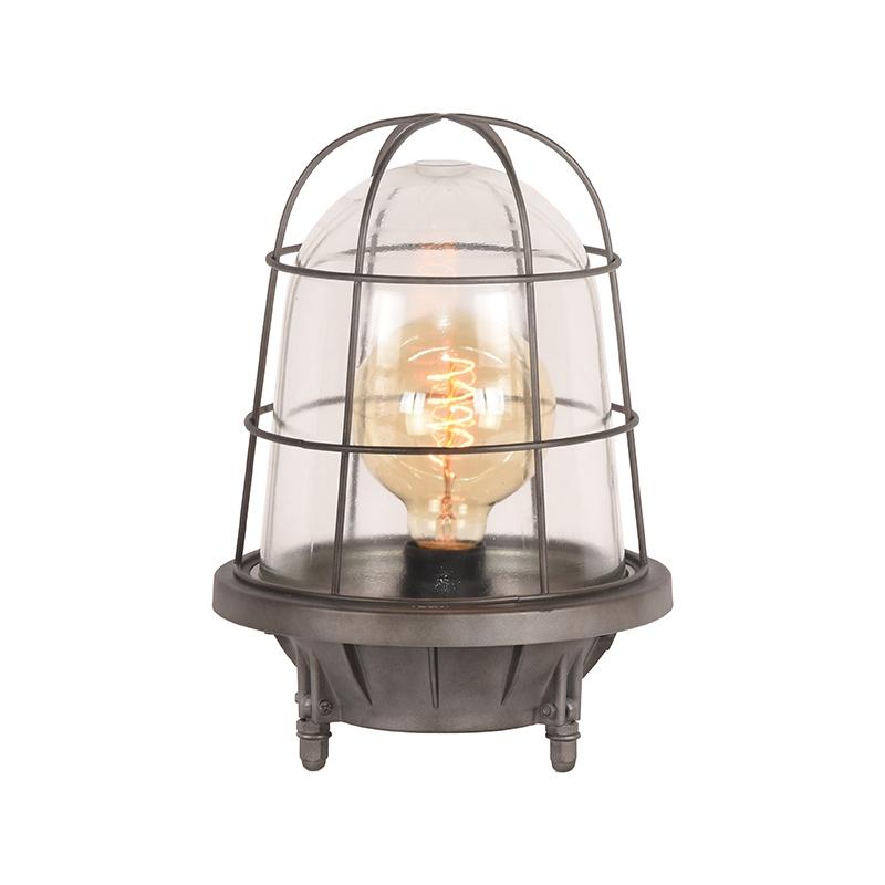 Tafellamp Seal - Burned Steel - Metaal
