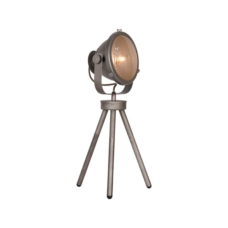Tafellamp Tuk-Tuk - Grijs - Metaal