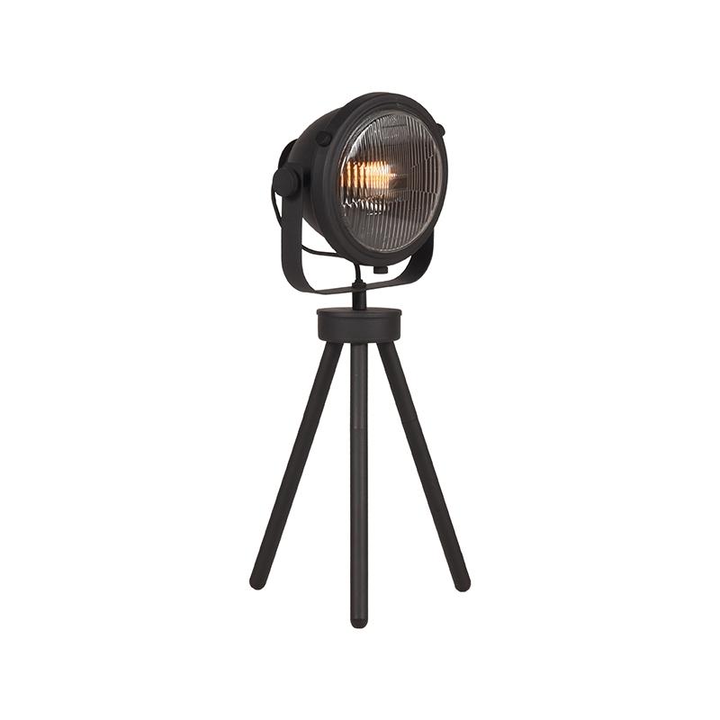 Tafellamp Tuk-Tuk - Zwart - Metaal