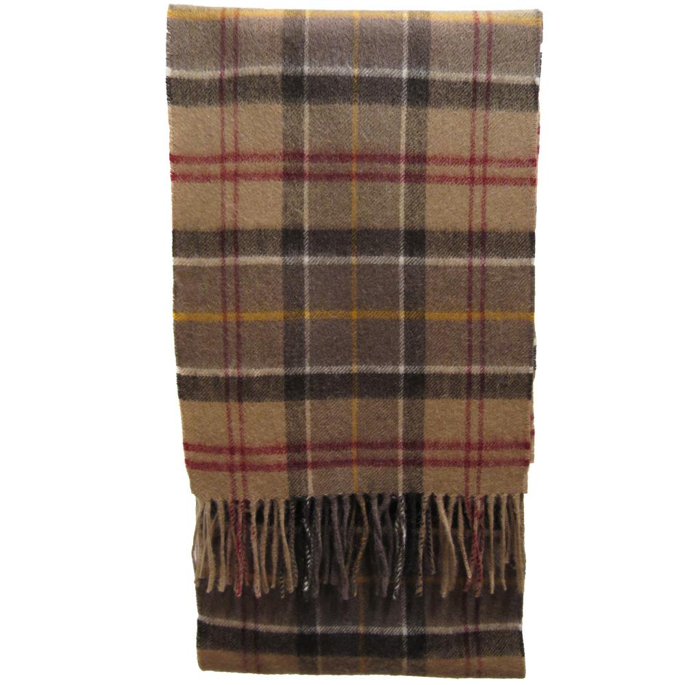 Tartan Cashmere Scarf dress