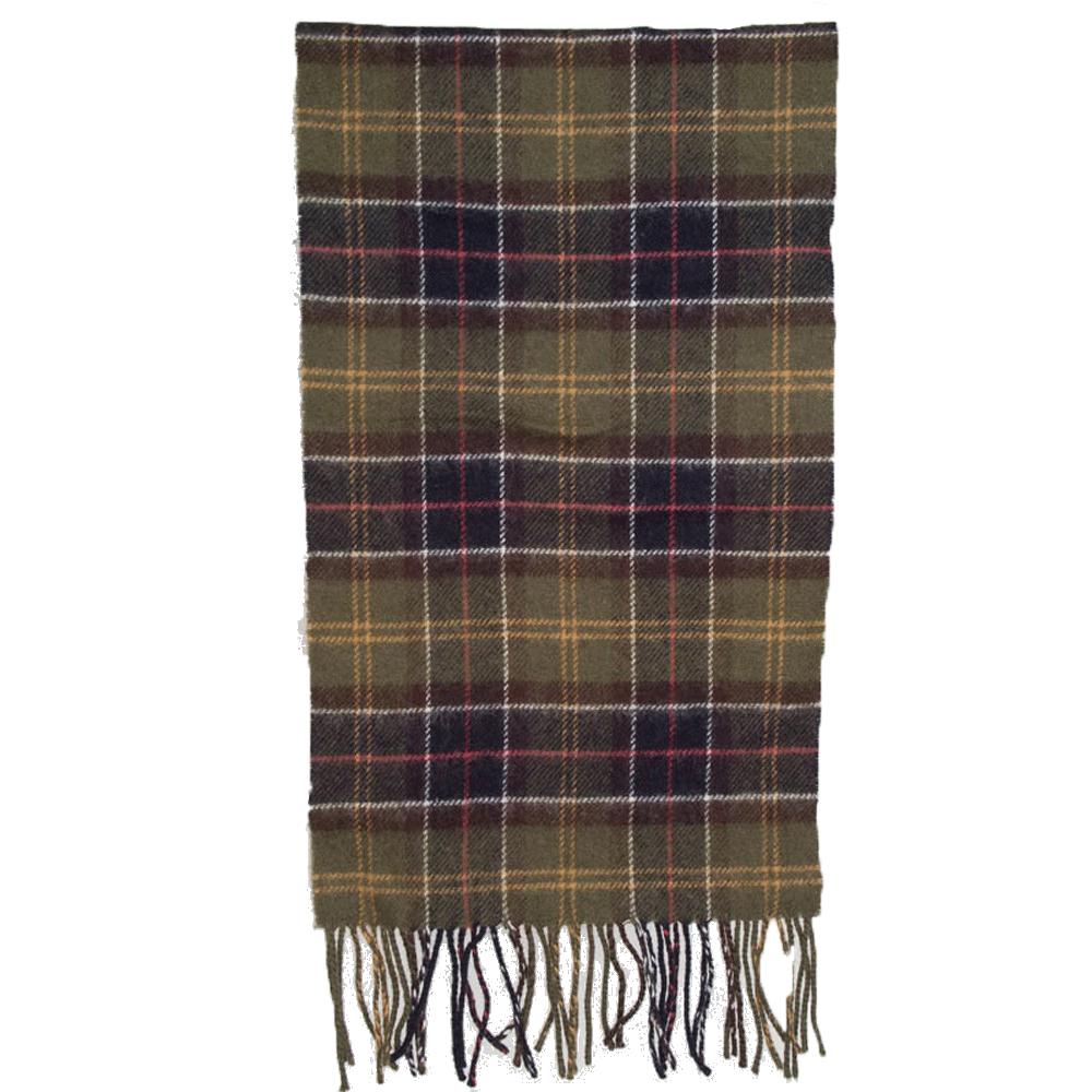 Tartan scarf lambswool classic tartan