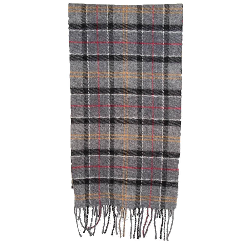 Tartan scarf lambswool modern tartan