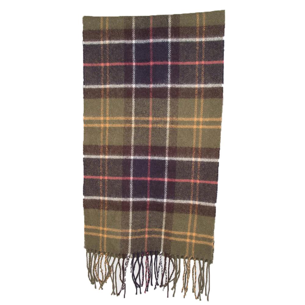 Tartan scarf merino/cashmere classic