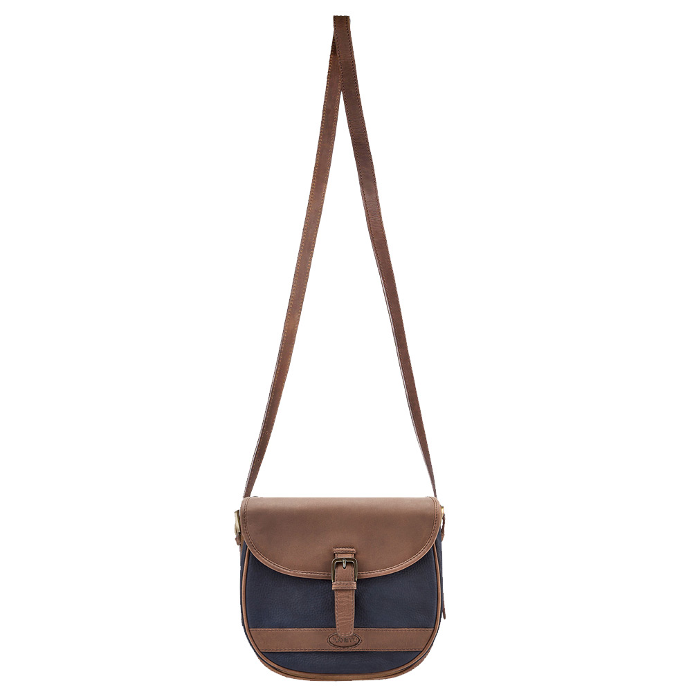 Tas Clara Navy/brown