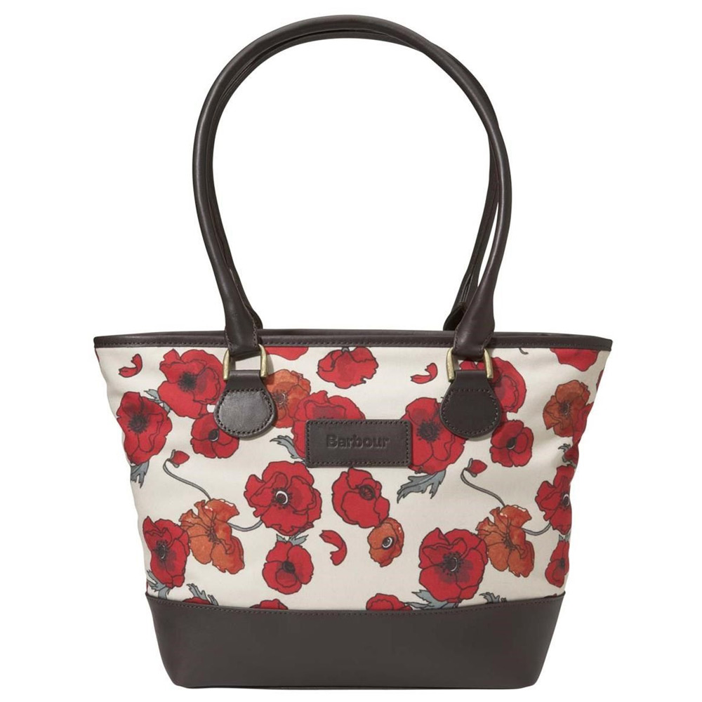 Tas Rose Print Tote Bag