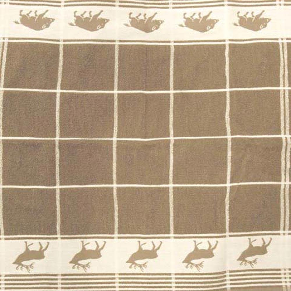 Thee- en keukendoek set hert/wildzwijn