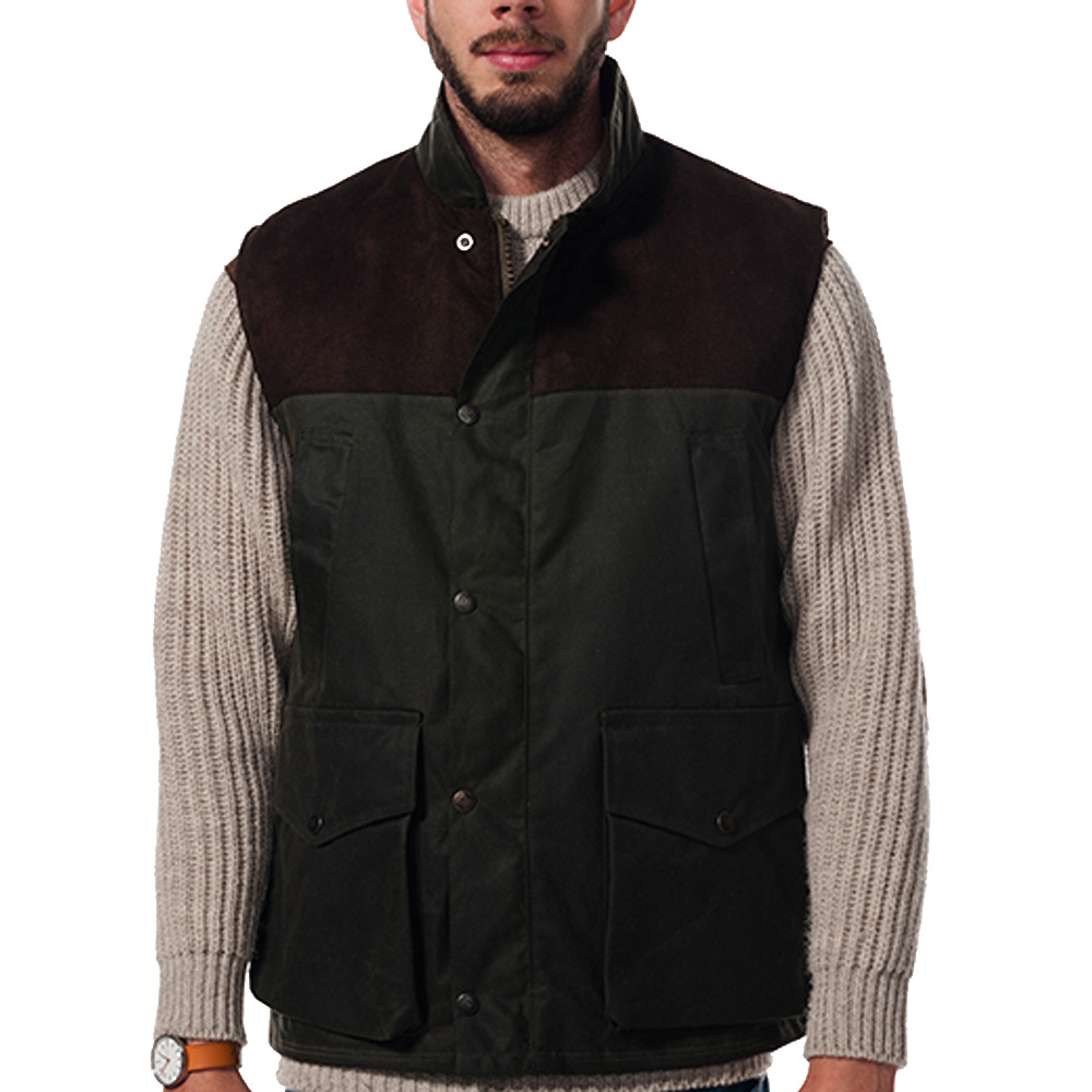 Town & Country Shooting Gilet Bruin