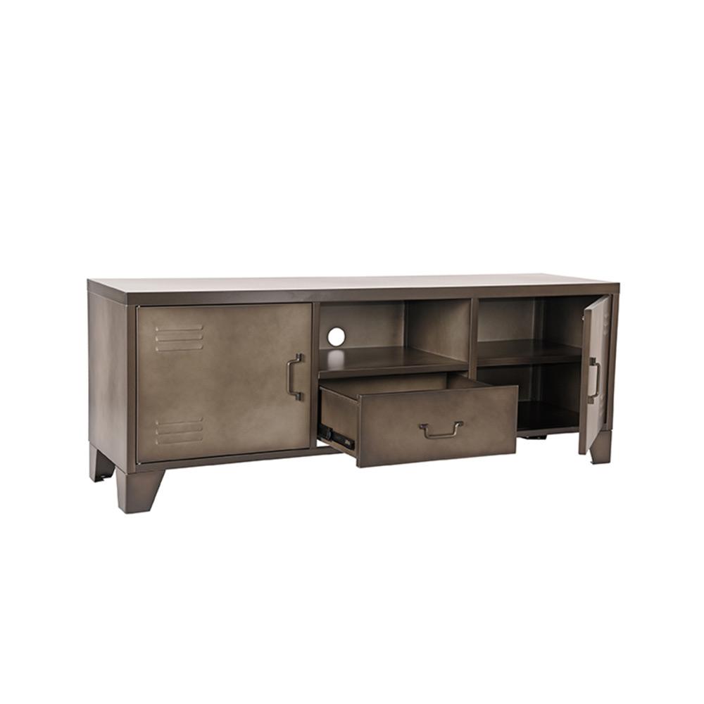 Tv-meubel Fence - Vintage Metaal - Metaal