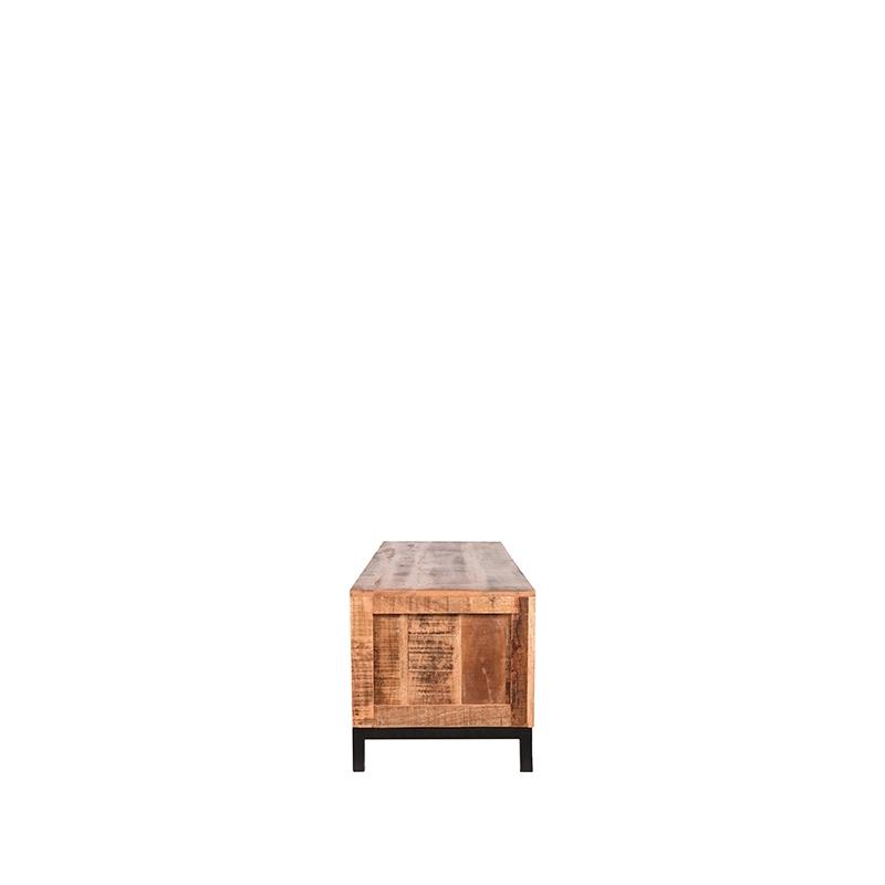 Tv-meubel Ghent - Rough - Mangohout - 160 cm