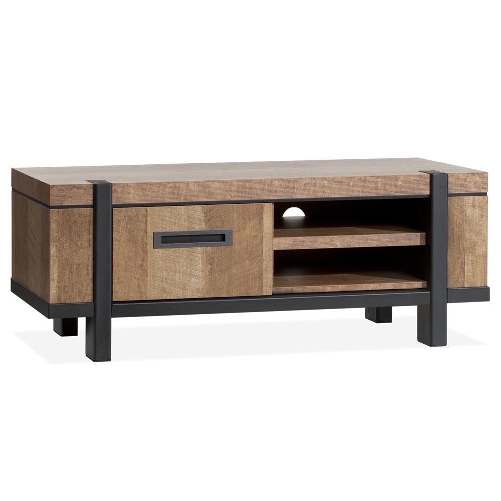 Utrecht tv meubel 1 deur en 2 open vakken