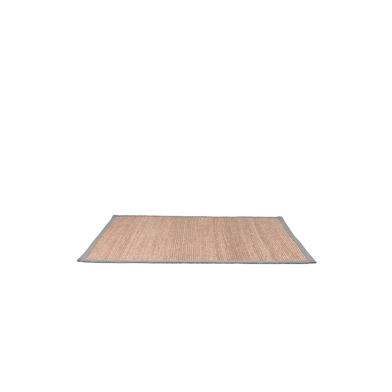 Vloerkleed Jute - Grijs - Jute - 60x140 Cm