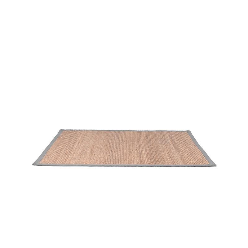 Vloerkleed Jute - Grijs - Jute - 230x160 Cm