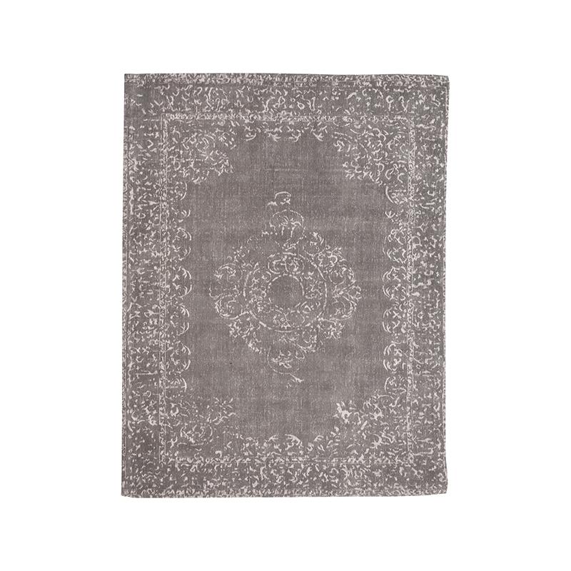 Vloerkleed Vintage - Antraciet - Katoen - 160x230 cm