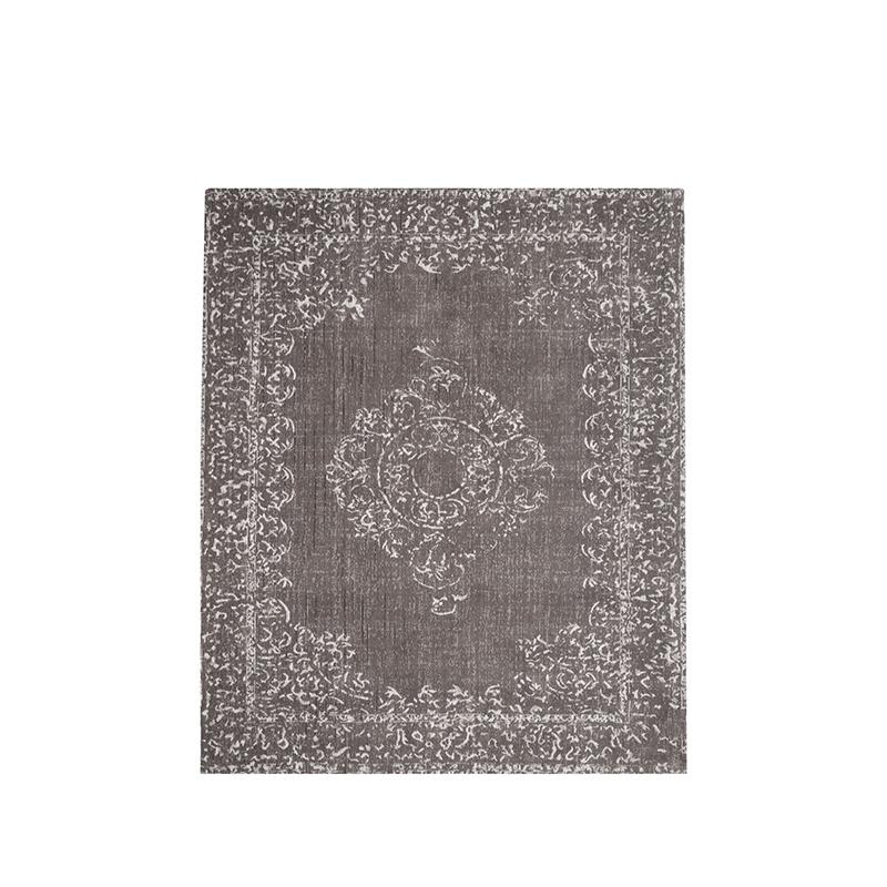 Vloerkleed Vintage - Grijs - Katoen - 140x160 cm