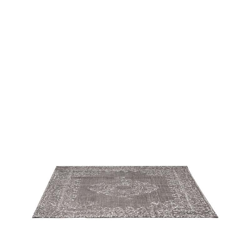Vloerkleed Vintage - Grijs - Katoen - 160x230 cm