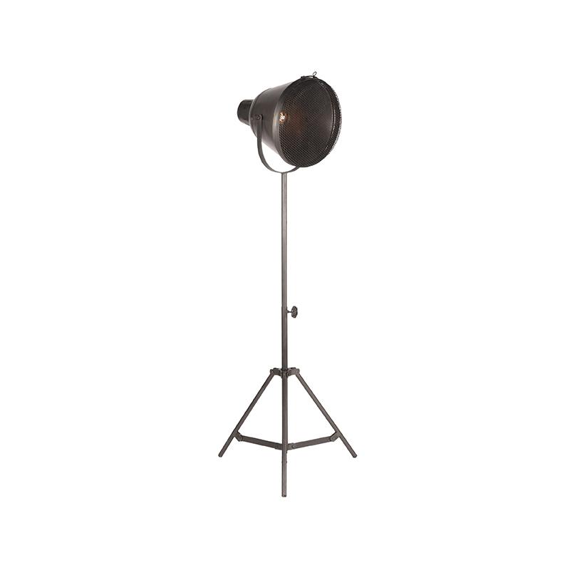 Vloerlamp Gaas - Grijs - Metaal