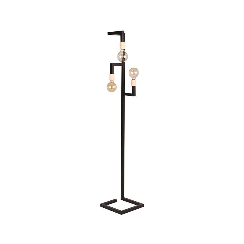 Vloerlamp Loco - Zwart - Metaal