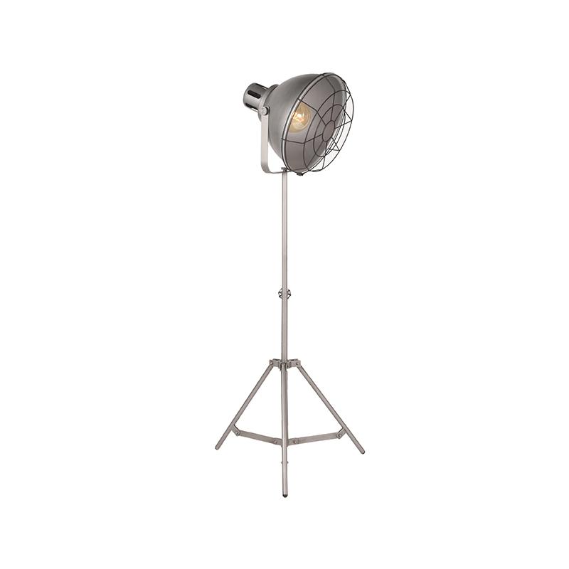 Vloerlamp Max - Metallic Grey - Metaal